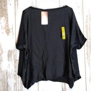🍁Zara asymmetric blouse
